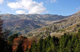 Αετομηλίτσα - Το χωριό